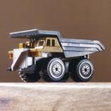 『ダイソー 働く車(ミニ) KONG K25 ダンプカー』の画像
