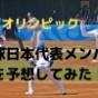 2020年東京オリンピック野球代表のメンバー