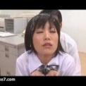 【女子校生】職員室で連続ぶっかけくらい至福の女子校生!!!