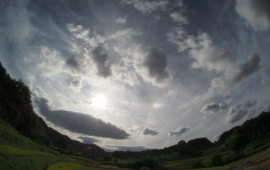 『大気光学現象と奈良の雲と風景  2019/10/21』の画像