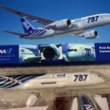 『飛行機おもちゃ ~【Boeing 787】』の画像