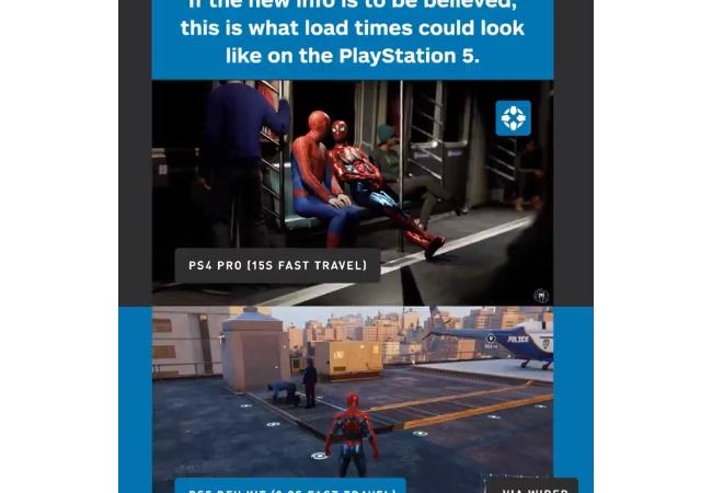 【朗報】PS5のロード時間、ほぼ無し!