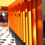 『朱色のパワーを感じて。生田神社にて』の画像