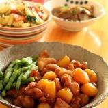 『栗と鶏肉の甘辛煮』の画像