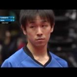 『アジアカップ5位6位決定戦:張本対丹羽』の画像