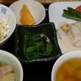 『今日の桜町の昼食(夏野菜の煮込みハンバーグ)』の画像