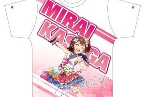 【グリマス】両面フルグラフィックTシャツ全7種の予約が開始!
