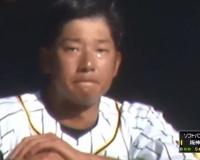 【阪神】横田がレーザービーム!ベンチで号泣!!