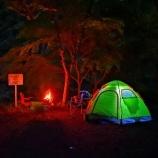 『直火OK!竜神の滝キャンプ場(野栗キャンプ場)で子供らと1泊!』の画像