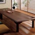 サッと広げて、すぐ使える。簡単折りたたみ座卓。