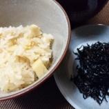 『春の味覚~筍ご飯とスナップエンドウの煮物』の画像