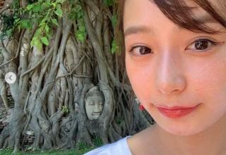 【画像】宇垣美里、タイで仏像より頭が高い写真を撮り炎上