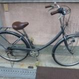 『リサイクル自転車 6段変速シティーサイクル 27インチ』の画像