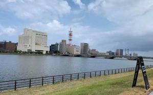 一人旅で新潟を訪れた様子を実況