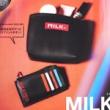 【速報】smart (スマート) 2020年 06月号増刊 《特別付録》 MILKFED.(ミルクフェド)高見えレザー製 カバンの整理に最適なポーチ&カードケース2点セット