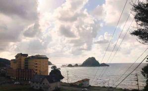 日本海が一望できるホテル