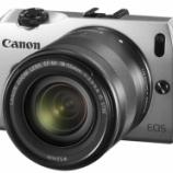 『Canonのミラーレス EOS-M 発表 発売は9月でキット価格は$799?』の画像