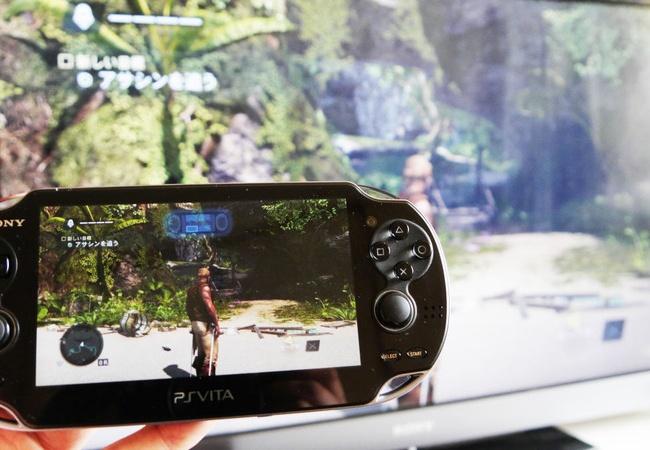 PS4はVitaでリモートプレイができる←凄すぎるだろ