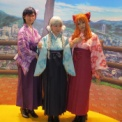 Anime Japan 2014 その127(秩父銘仙×あの花 着物展示の2)