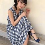 『[イコラブ] 瀧脇笙古「青チェックわんぴ…」』の画像