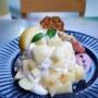 【東京 原宿・明治神宮前】 レインボーパンケーキ RAINBOWPANCAKE 水蜜桃のパンケーキ