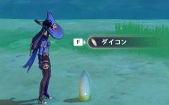 【原神】ダイコンくん、迫真の直立