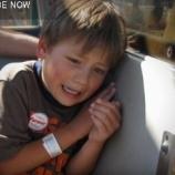 『自閉症に苦しむ少年を救ったわんこと囚人』の画像