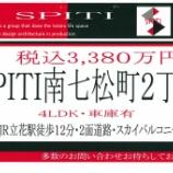 『スピティ南七松町・新築住宅モデル仕様・工事着工!!』の画像