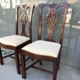 『クラシックな椅子16脚の塗り直し』の画像