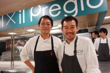Italia incontra Giappone 徳吉洋二さん×岩坪滋さんコラボイベント@伊勢丹