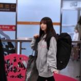 『【乃木坂46】台北に到着した与田祐希、背負ってるリュックが異様にデカすぎてワロタwwwwww』の画像