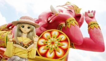 娘(人形)とタイを観光してきたで!『カオスな寺院』【三日目!!!】