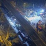 【動画】中国、幹線道路の高架橋が突然倒壊!通行中の車両が下敷き、その瞬間 [海外]