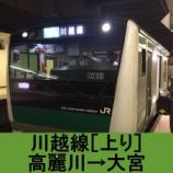 『川越線 車窓[上り]高麗川→大宮』の画像