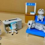 「病院用の家具」がミニチュアフィギュアになってガチャに登場!「病院マスコット」