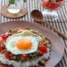 和風ガパオライス 卵も野菜もお肉も摂れる!簡単レシピ②