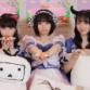 AKB48 矢作萌夏&HKT48 田中美久&STU48 石田千穂、店舗ご挨拶周り・特別配信オフショット