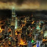 アジアの中心都市って