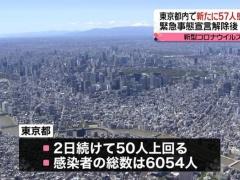 【画像】半年前の東京がこちら…