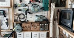 我が家の工具は壁面収納。収納場所がないなら壁面を有効活用すればいい