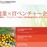 『大量保有報告書 農業総合研究所(3541)-日本郵政キャピタル(大量取得)』の画像