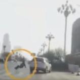 『【世界のミステリー動画】空中から人間が現われる決定的瞬間』の画像