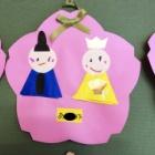 『保育園でお雛様を作ったようです!』の画像