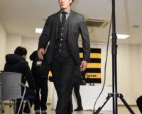 藤浪晋太郎さんのスーツ姿ww