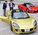 「世界をわくわくさせる車を京都から」 京都大発ベンチャーがEVスポーツカー「トミーカイラZZ」を公開