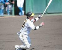 【阪神】陽川、2軍練習試合で猛アピール 走者一掃の3点二塁打