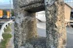 もうずっと前からあるけど、この穴はなんだ!?私部南、前川沿いの石柱からの景色