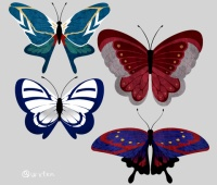 【欅坂46】制服をモチーフにした蝶々!?センスありすぎてこれは凄い…!