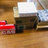 『台風10号対策にミネラルウォーターとガス、中国水害からの食糧危機対策で乾麺を色々買い揃えた』の画像