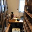 書斎と真空管式バランス型フォノイコライザー
